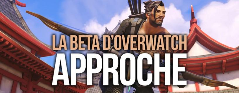 Un lancement de la Beta fermée Overwatch octobre ?