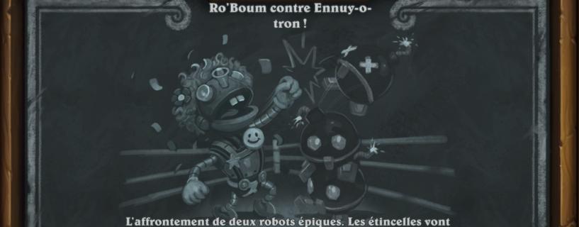 Ro'Boum contre Ennuy-o-tron: Bras de fer #16