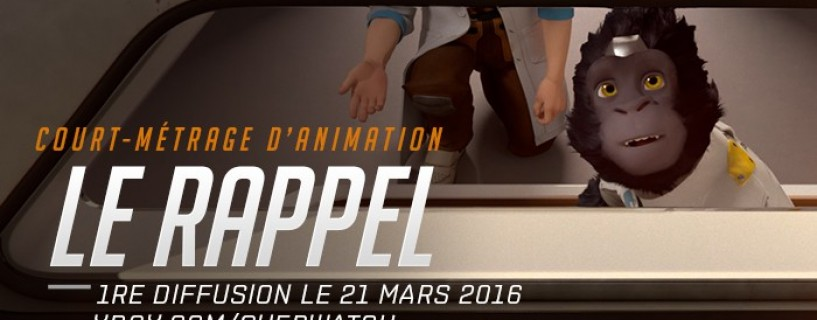 Recall, le premier court métrage d'Overwatch et possible new Héros ?