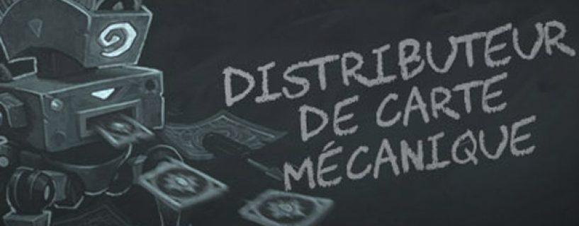 Distributeur de carte mécanique: Bras de fer #55