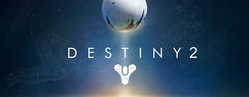 Destiny 2 confirmé pour cette année !