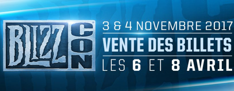 BlizzCon 2017 : Les dates