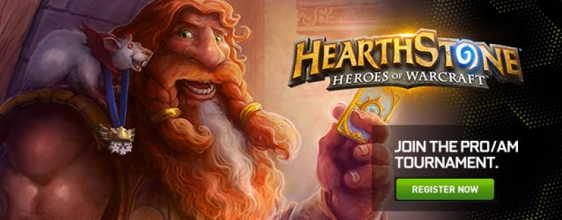 Tournoi HearthStone Online PRO/AM par Nvidia
