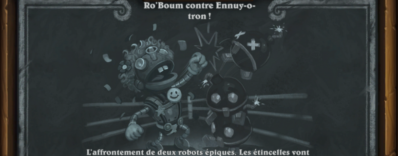 Ro'Boum contre Ennuy-o-tron: Bras de fer #67