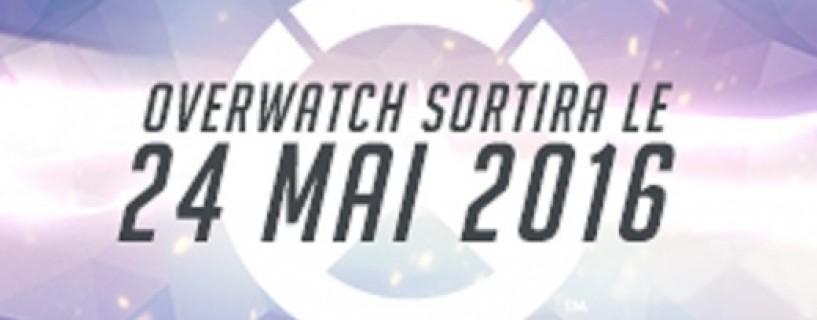 Overwatch sortira le 24 mai !