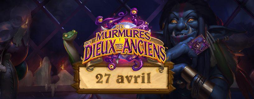 Les Dieux très anciens murmureront dès le 27 avril !