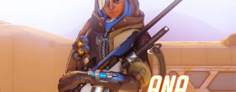 Ana : nouveau héros soutien d'Overwatch