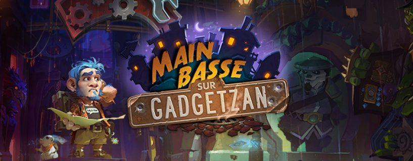 Présentation de Main basse sur Gadgetzan à la BlizzCon