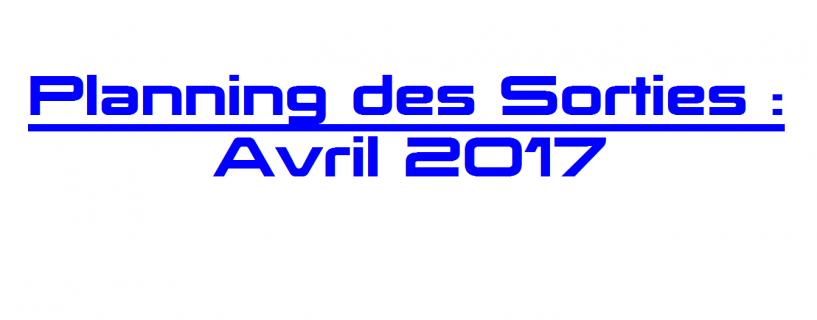 Les Sorties Jeux Vidéo : Avril 2017